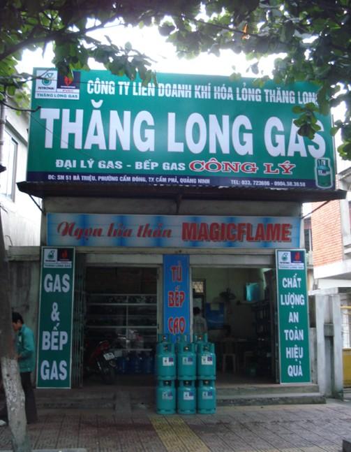 Làm biển quảng cáo gas tại công ty Thượng Lâm