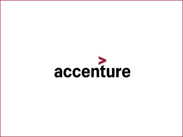 Logo công ty đa quốc gia Accenture