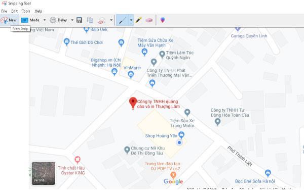 cach in ban do google map