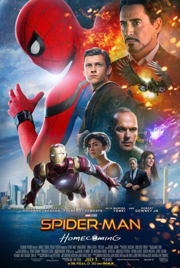 poster phim spider man
