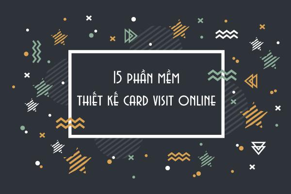 thiet ke card visit online